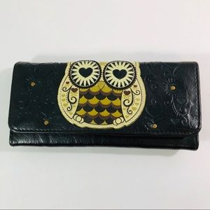 Loungefly Embossed Owl Wallet